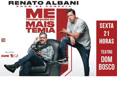 RENATO ALBANI - Me Tornei Quem Eu Mais Temia