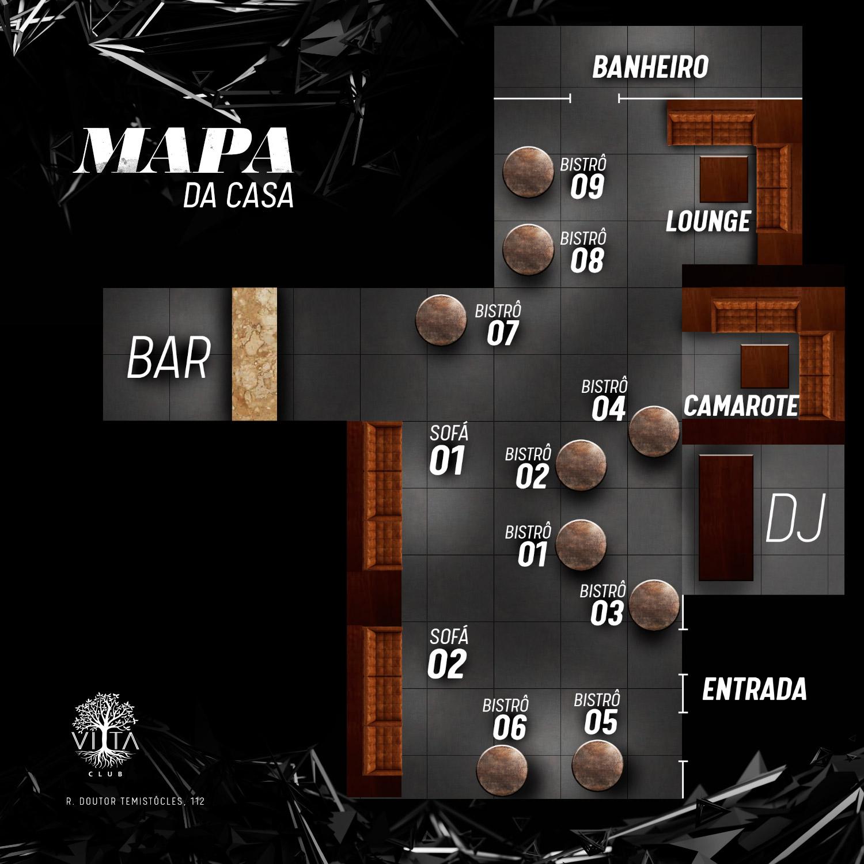 Mapa dos Setores